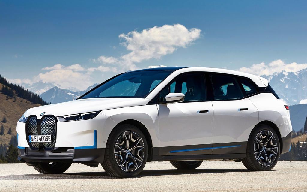 BMW iX 2021 в России — раскрыты характеристики и цены