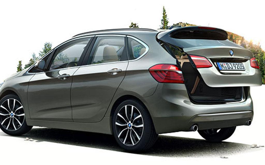 Дистанционное открытие багажника у BMW