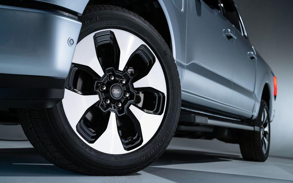 Ford F-150 Lightning 2021, колесные диски