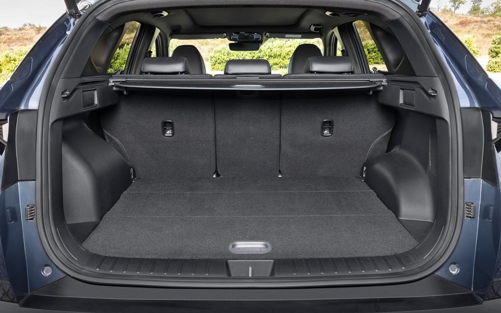 Hyundai Tucson 2021, багажное отделение