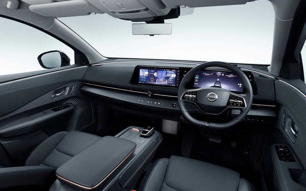 Nissan Ariya 2021, передняя панель