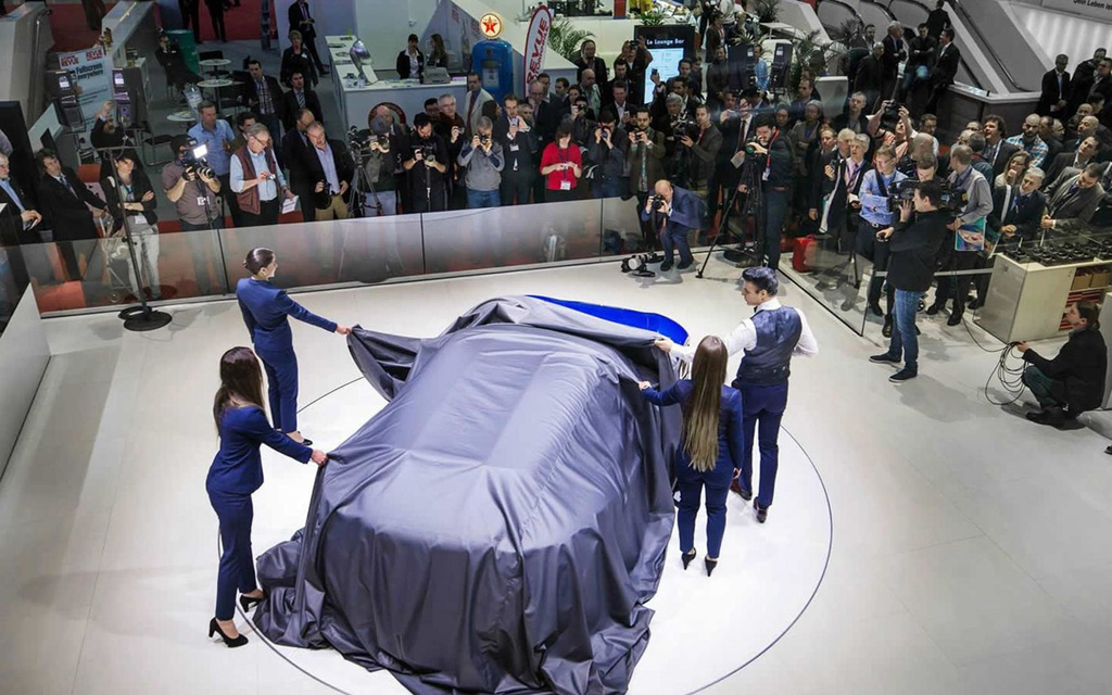 Презентация нового авто в Женеве 2015