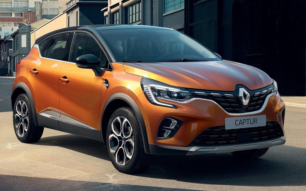Новый Renault Captur в Украине — комплектации и цены