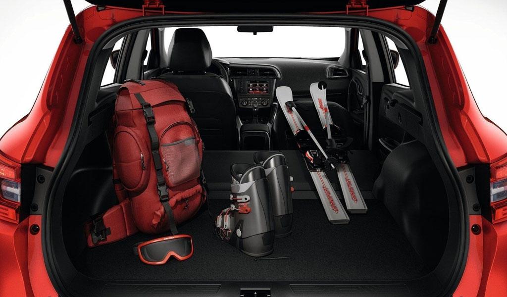 Renault Kadjar 2018, багажное отделение