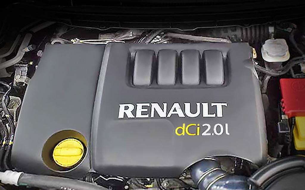 Renault Megane 2008, универсал, двигатель