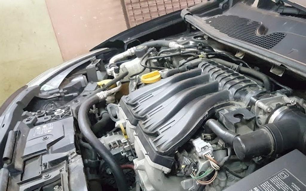 Renault Megane 2012, универсал, рестайлинг, двигатель
