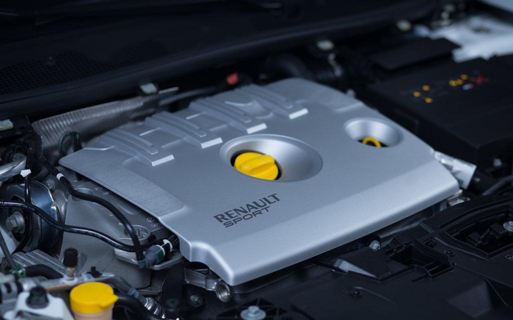 Renault Megane 2014, хэтчбек, 2-ой рестайлинг 3 дв, двигатель