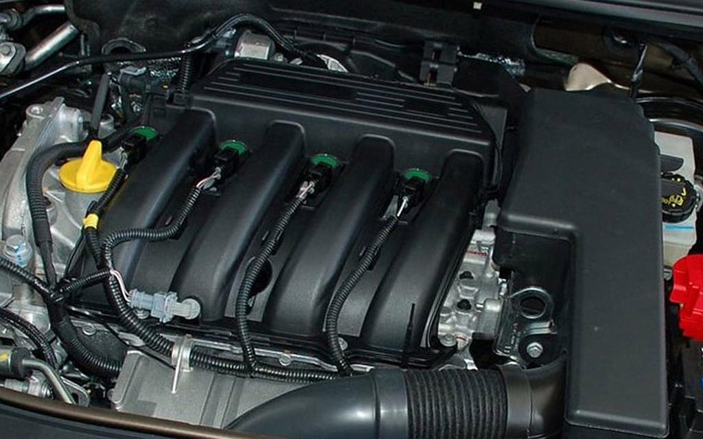 Renault Megane 2014, хэтчбек, 2-ой рестайлинг 5 дв, двигатель