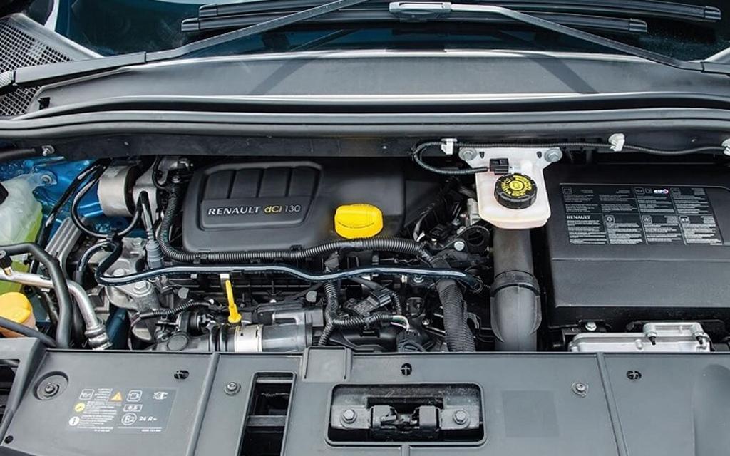 Renault Megane 2014, кабриолет, 2-ой рестайлинг, двигатель