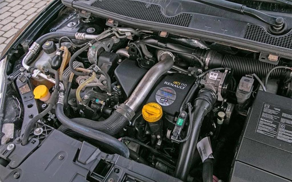 Renault Megane 2014, универсал, 2-ой рестайлинг, двигатель