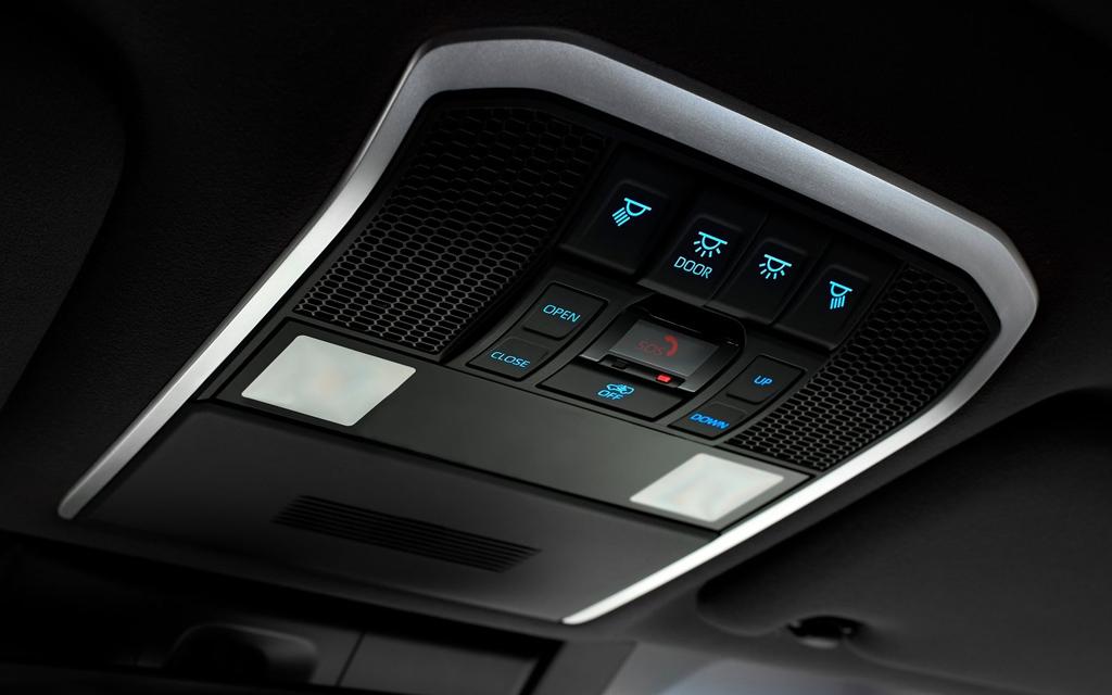 Toyota Land Cruiser 2021, блок управления люком