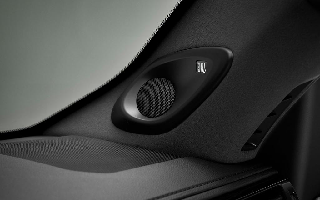 Toyota Land Cruiser 2021, динамик аудиосистемы JBL