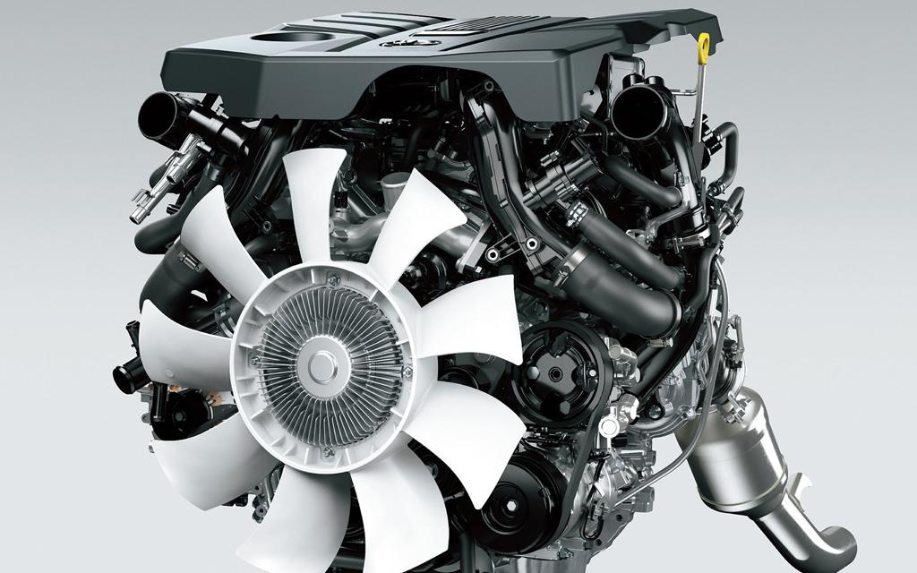 Toyota Land Cruiser 2021, двигатель