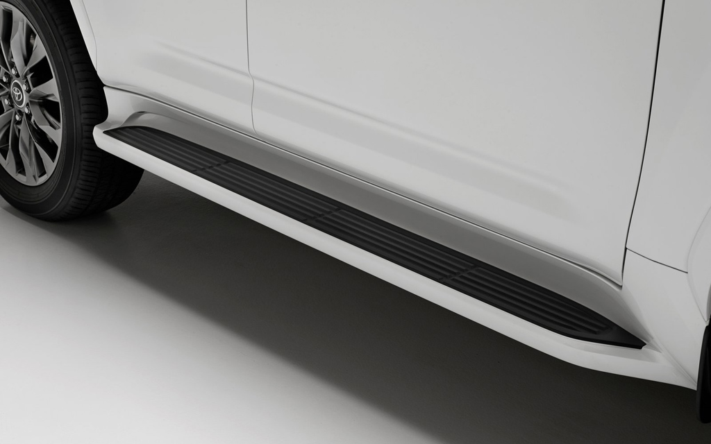 Toyota Land Cruiser 2021, пороги