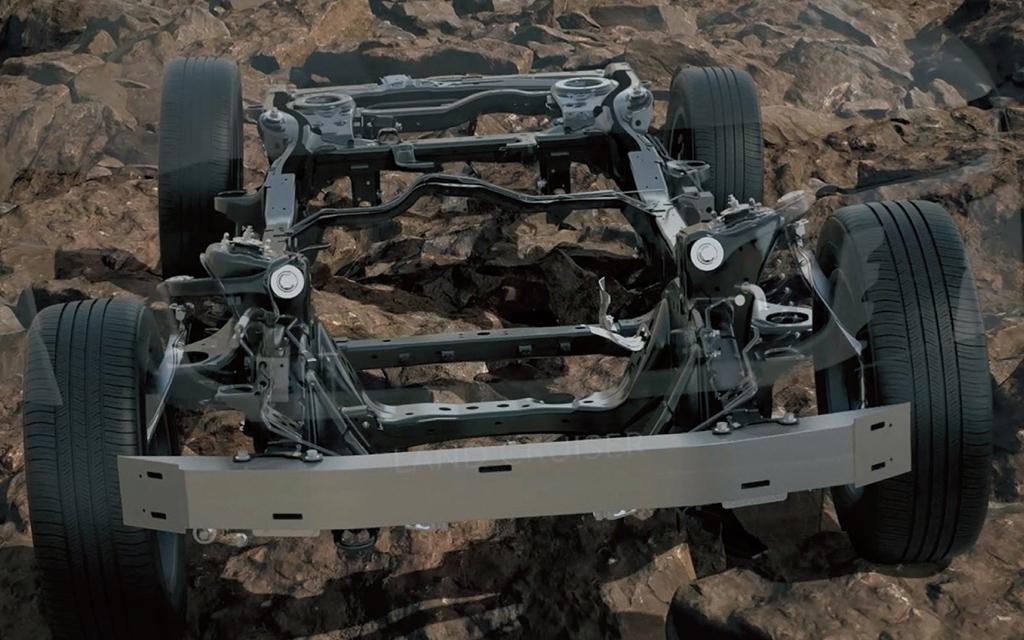 Toyota Land Cruiser 2021, рама внедорожника