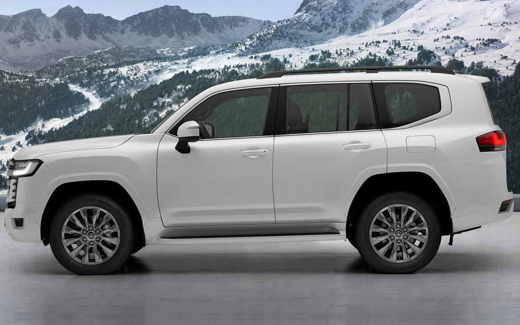 Toyota Land Cruiser 2021, вид сбоку