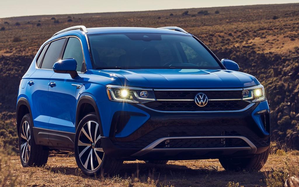 Дебют Volkswagen Taos 2021 в России — раскрыты комплектации и цены