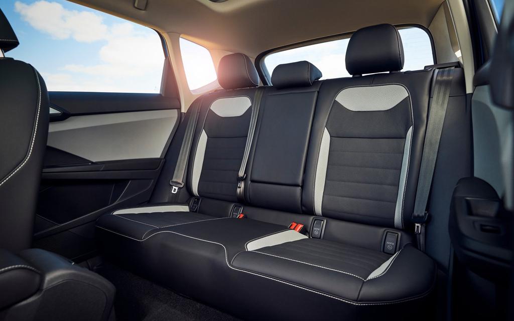 Volkswagen Taos 2022, второй ряд сидений