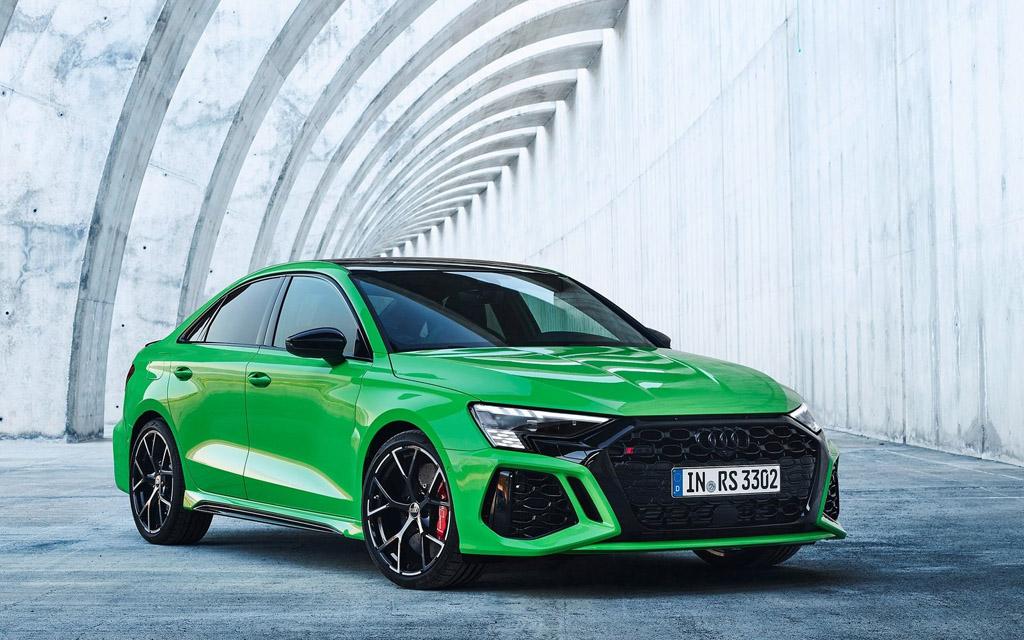 Дебют Audi RS3 2021 — характеристики и фото