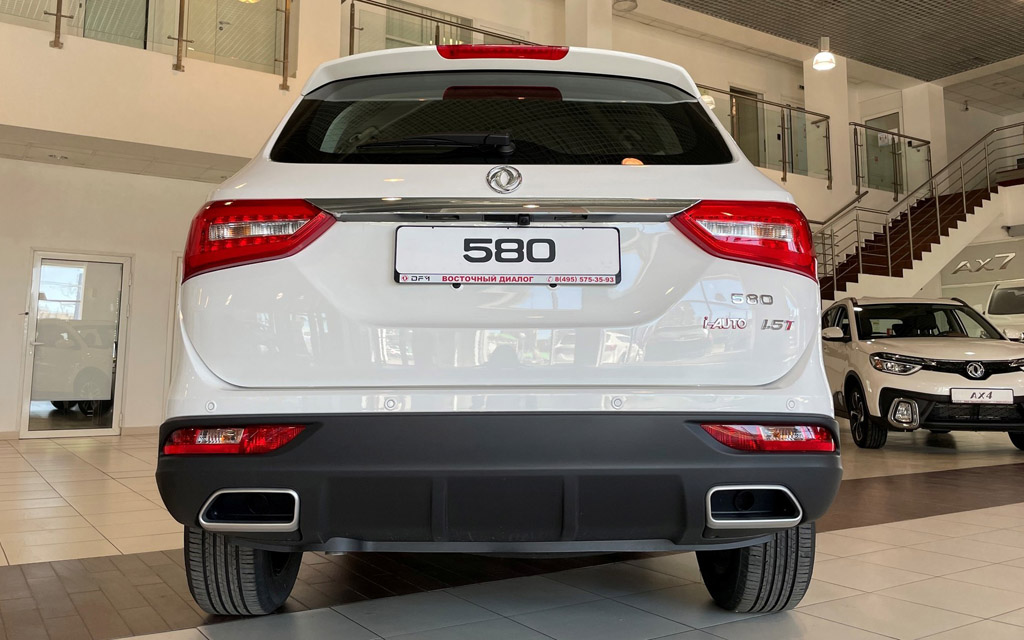 DMF 580 Luxury 2021, вид сзади