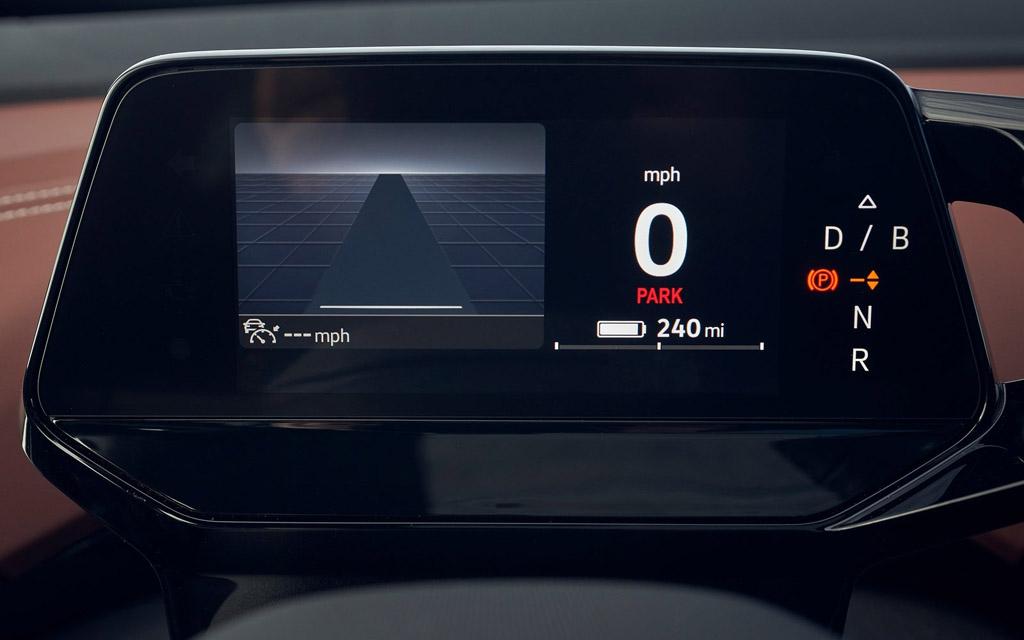 Электрический Volkswagen ID.4 2021, панель приборов