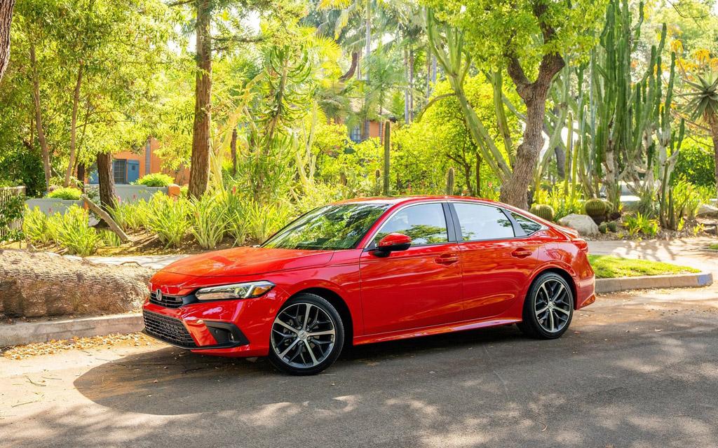 Новый Honda Civic Sedan 2022 — комплектации и цены в США