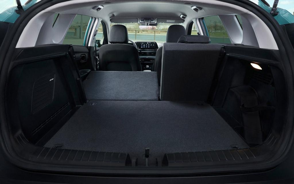 Hyundai Bayon 2022, багажное отделение