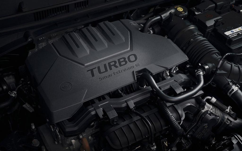 Hyundai Bayon 2022, турбированный двигатель