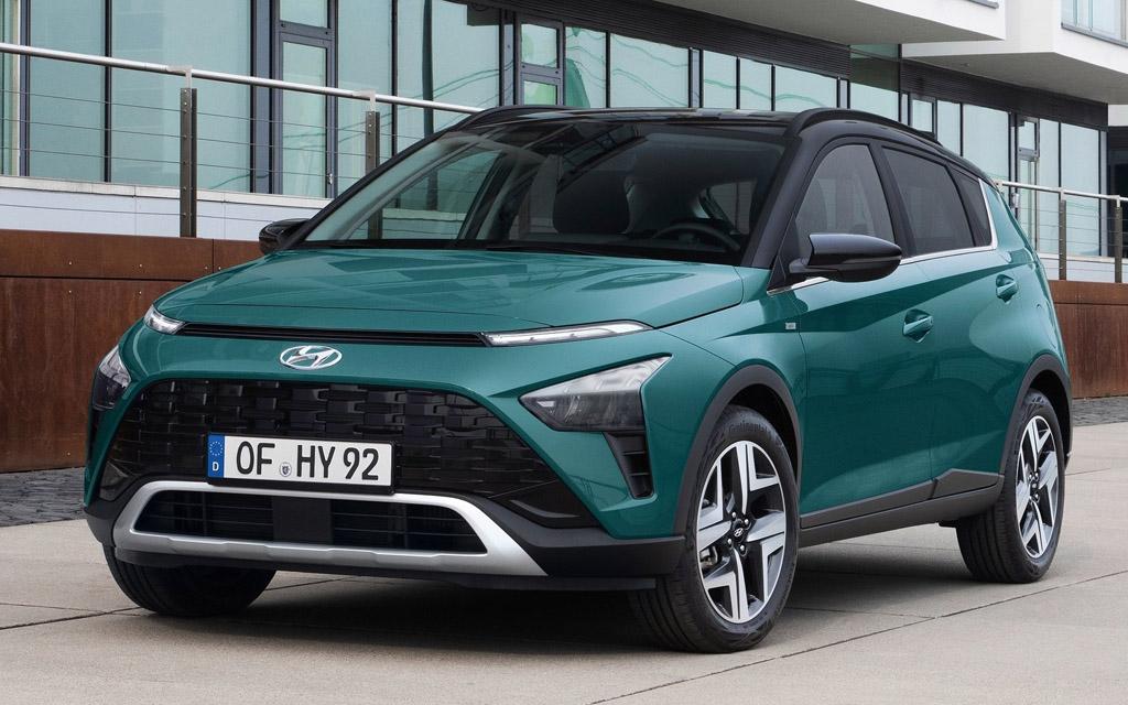 Hyundai Bayon 2022, вид спереди