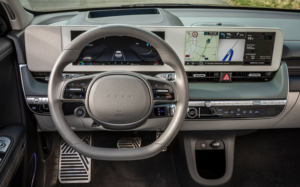 Hyundai Ioniq 5 2022, передняя панель