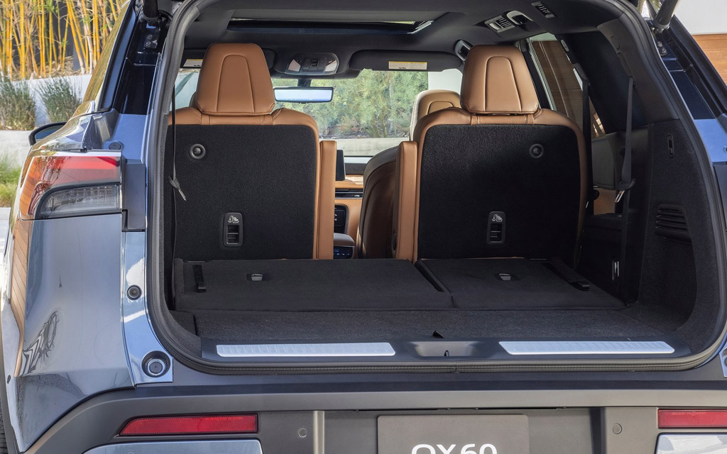 Infiniti QX60 2021, багажник