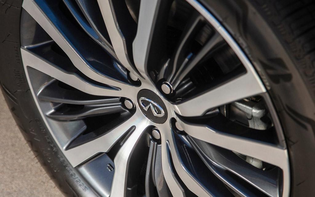 Infiniti QX60 2021, колесные диски