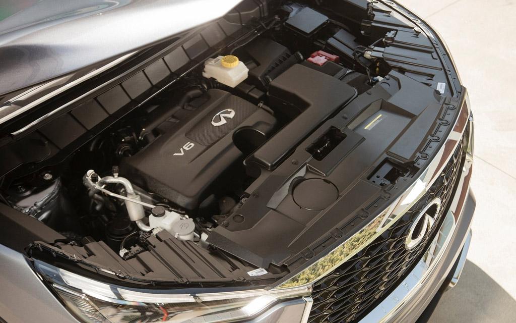 Infiniti QX60 2022, двигатель внедорожника