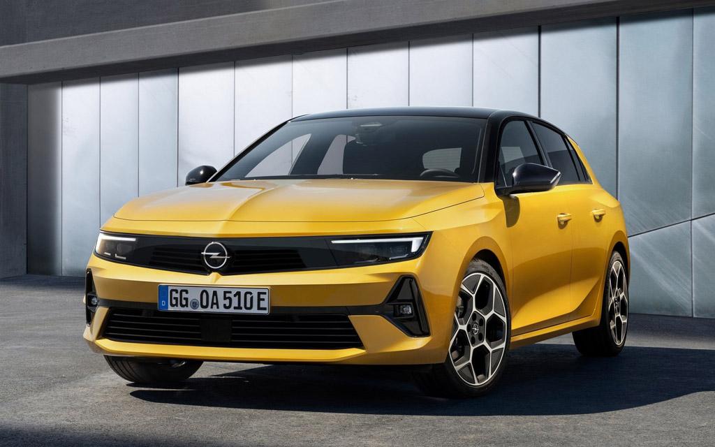 Новое поколение Opel Astra 2022 — технические характеристики и фото
