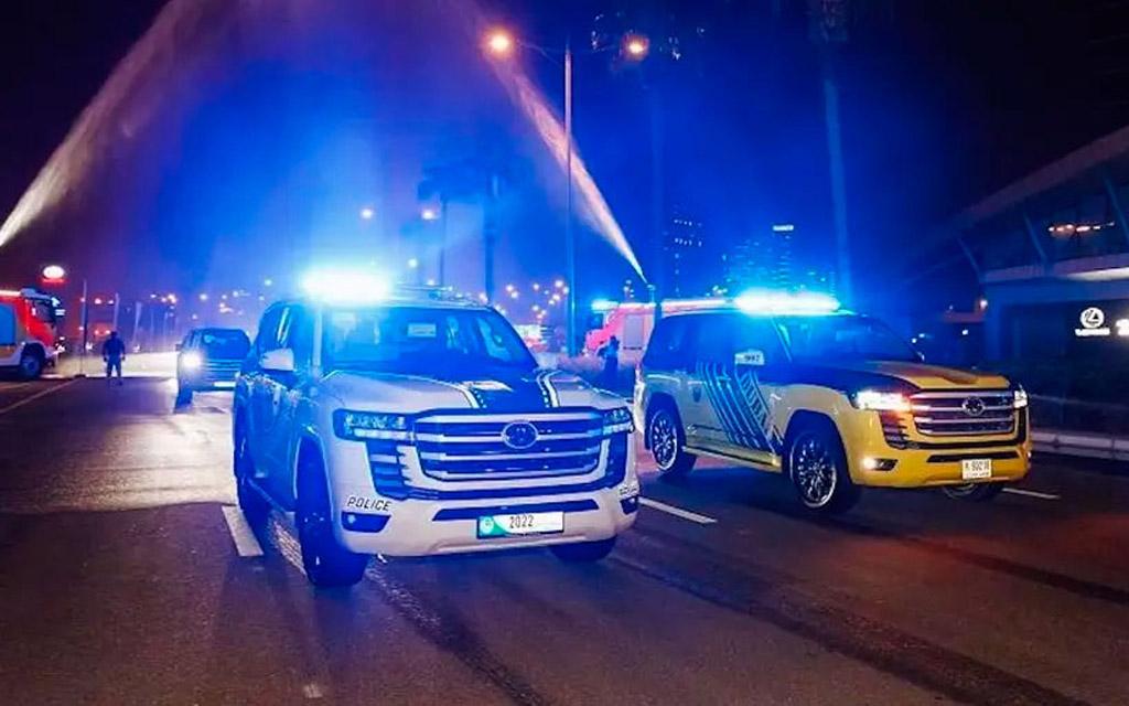 Полицейский Toyota Land Cruiser 300 2021