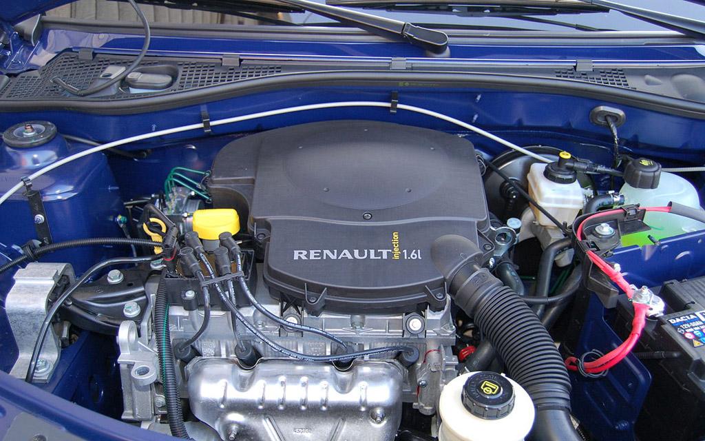 Renault Clio 2009 хэтчбек 5DR рестайлинг, двигатель