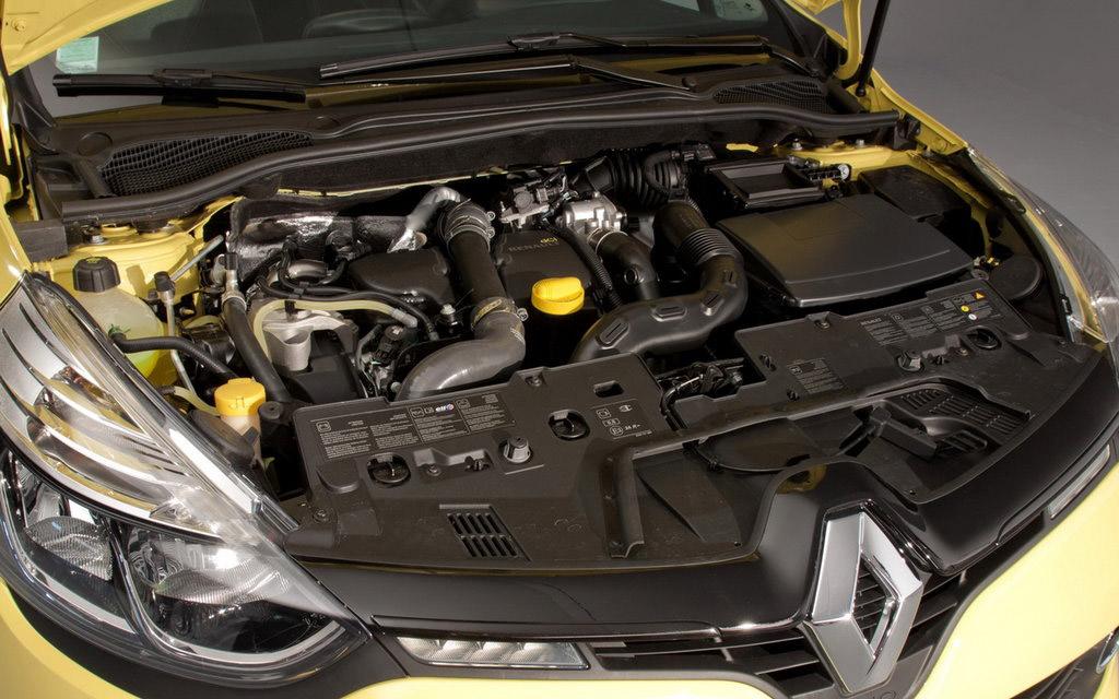Renault Clio 2012 хэтчбек, двигатель