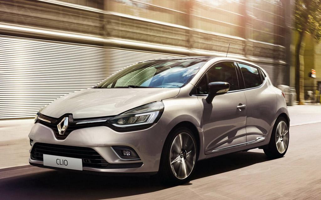 Renault Clio 2016 хэтчбек рестайлинг, вид спереди