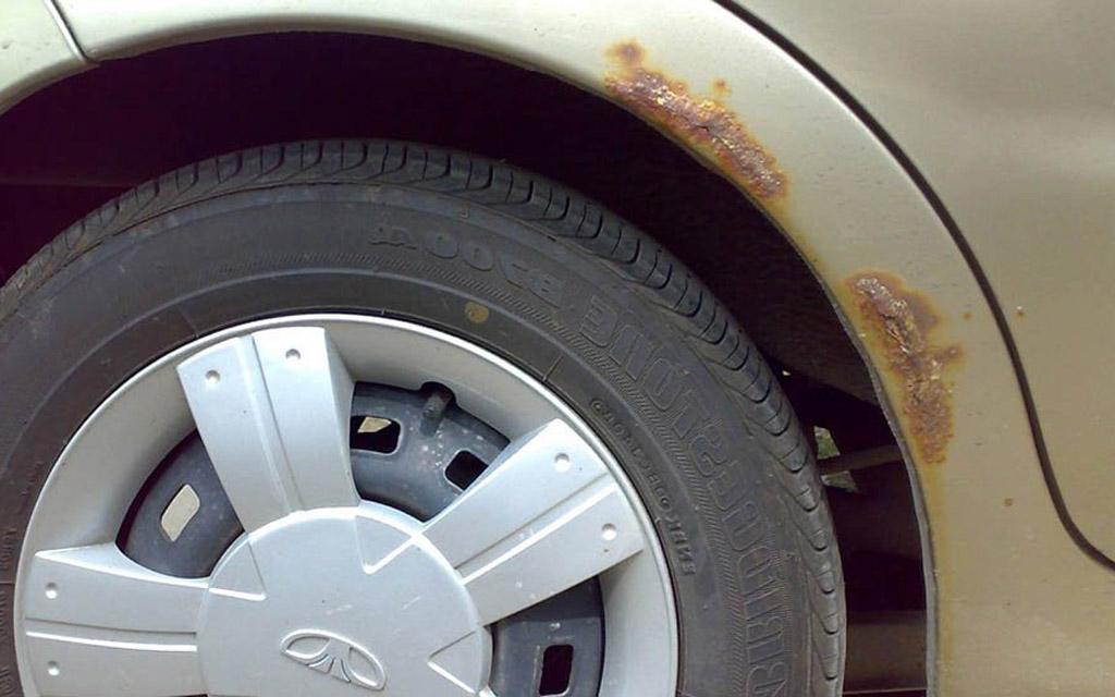 Ржавые арки колес