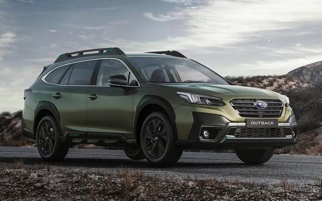 Subaru Outback 2021, передняя оптика