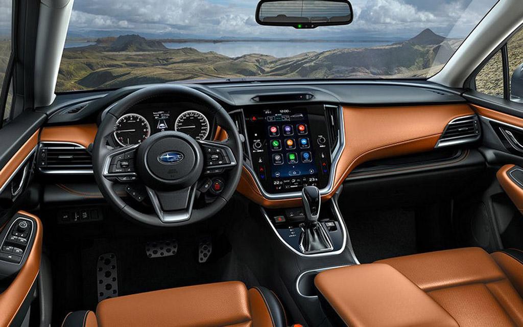 Subaru Outback 2021, передняя панель
