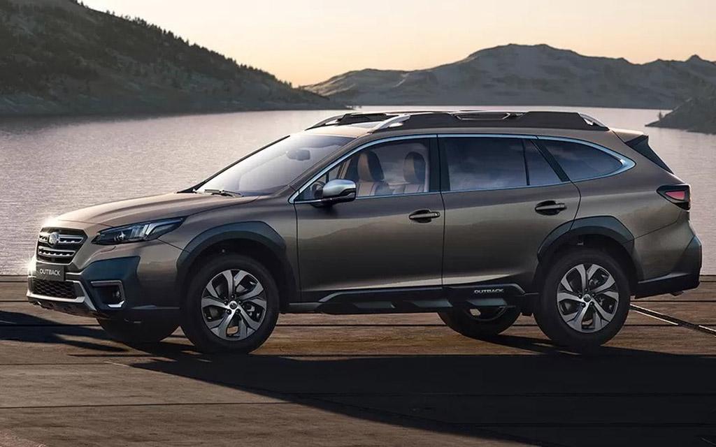 Новый Subaru Outback 2021 уже в России — один двигатель, цены и комплектации