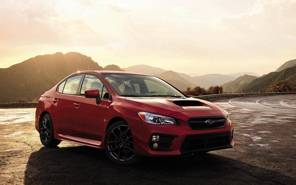Subaru WRX 2020, вид спереди
