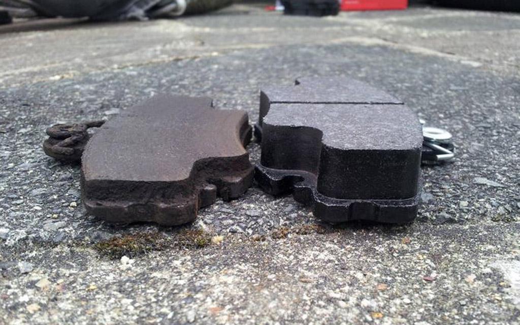 Тормозные колодки для автомобиля