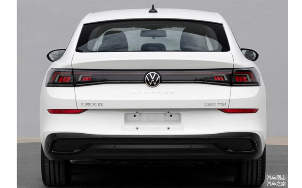 Volkswagen Lamando 2022, вид сзади