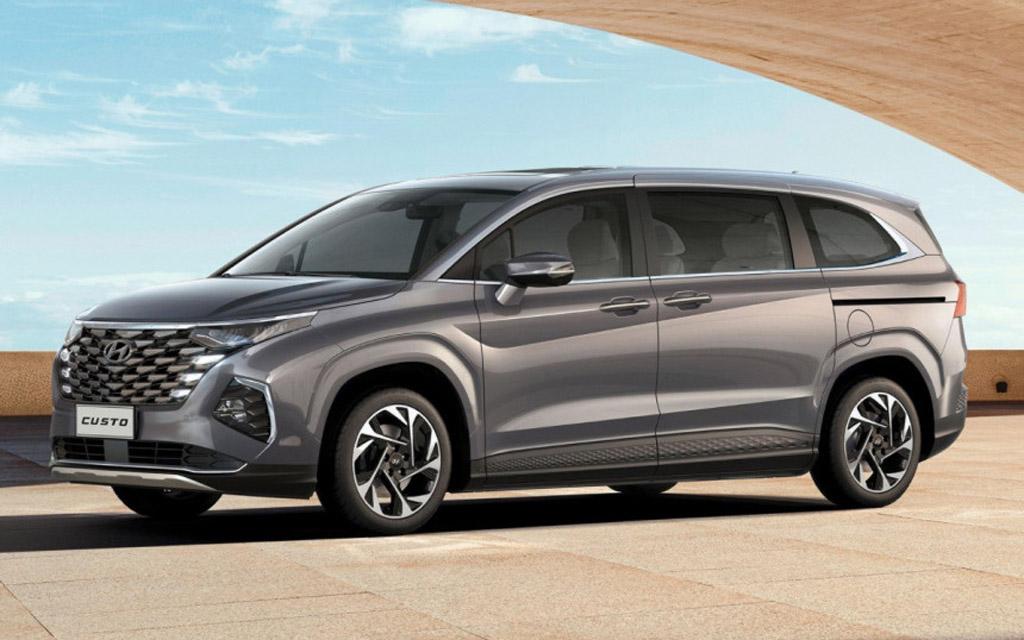 Hyundai Custo 2023 — новый минивэн с легендарным именем