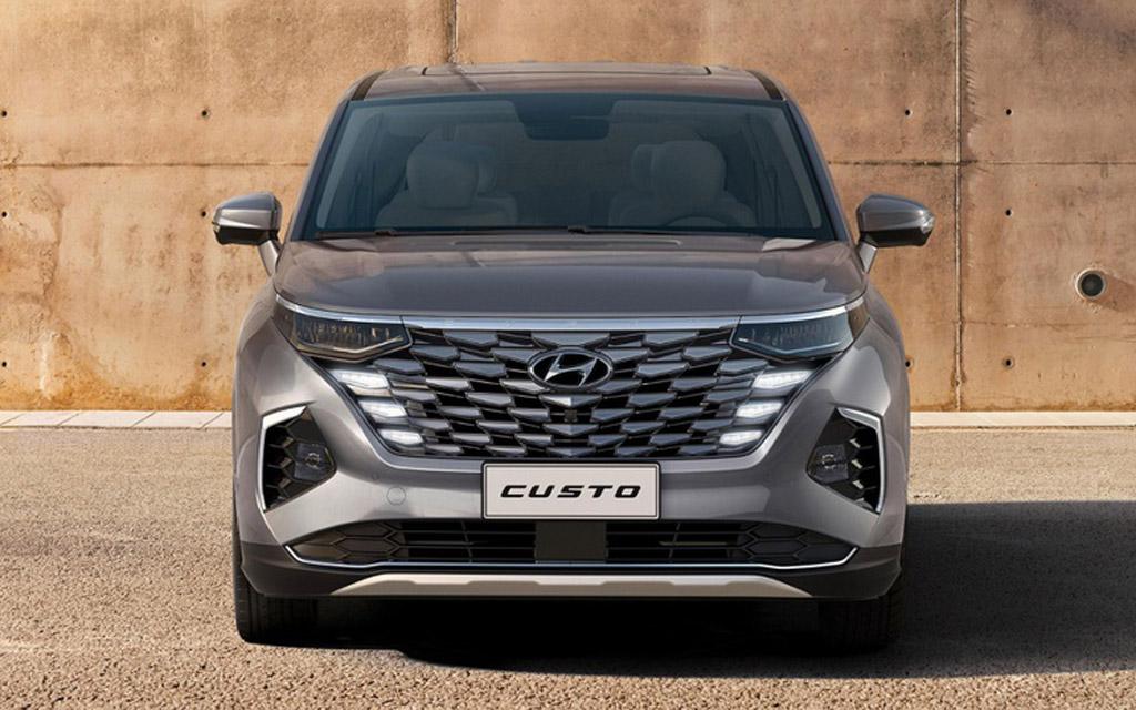 Hyundai Custo 2022, вид спереди