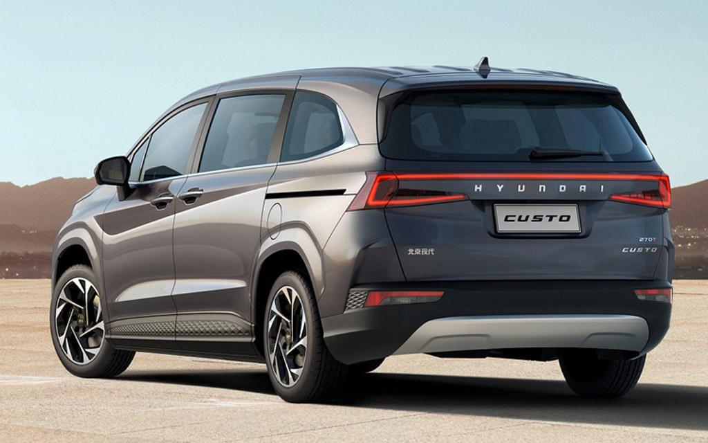 Hyundai Custo 2022, вид сзади