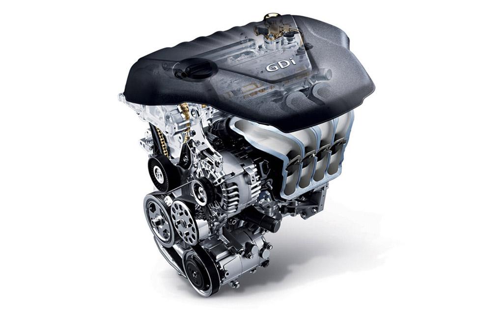 Kia Sportage 2022, двигатель