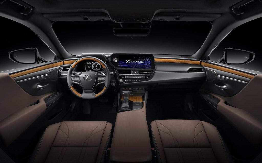 Lexus ES 2021, передняя панель